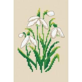 GC 8504 Snowdrops - Cross Stitch pattern