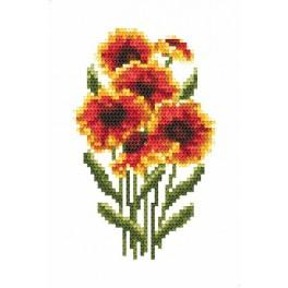 GC 8524 Gaillardia - Cross Stitch pattern