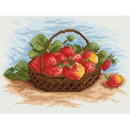 Strawberries - Cross Stitch pattern