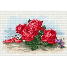 GC 857 Roses - Cross Stitch pattern
