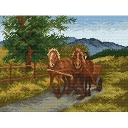 Return home - Cross Stitch pattern