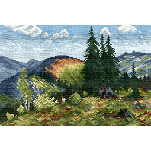 Summer in the Tatra Mountains - Cross Stitch pattern