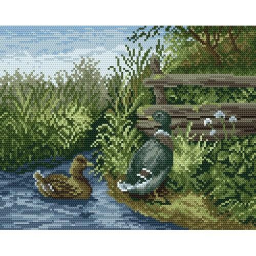 GC 866 Cross stitch pattern - Ducks
