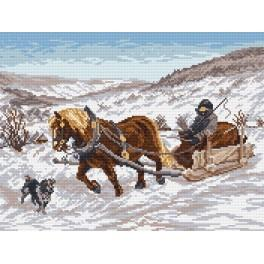 In Winter - Cross Stitch pattern