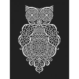 Cross stitch pattern - Lace owl