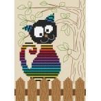 Cross Stitch pattern - Funny cat
