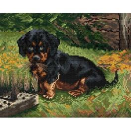 Devastated brush - Cross Stitch pattern