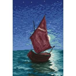 Sailing-ship - Cross Stitch pattern