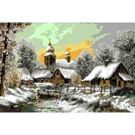 Village - Cross Stitch pattern