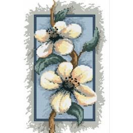 B.Sikora-Małyjurek - The apple - tree flowers - Tapestry canvas