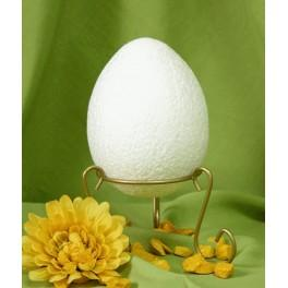 Plastic egg 12cm with a stand