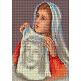 Kanwa z nadrukiem - Święta Weronika