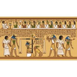 Piece of papyrus - Tapestry aida
