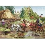 Cracov wedding - Tapestry aida