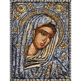 The Mother of God Icon - Tapestry aida