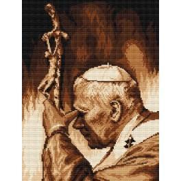 John Paul II - Tapestry aida