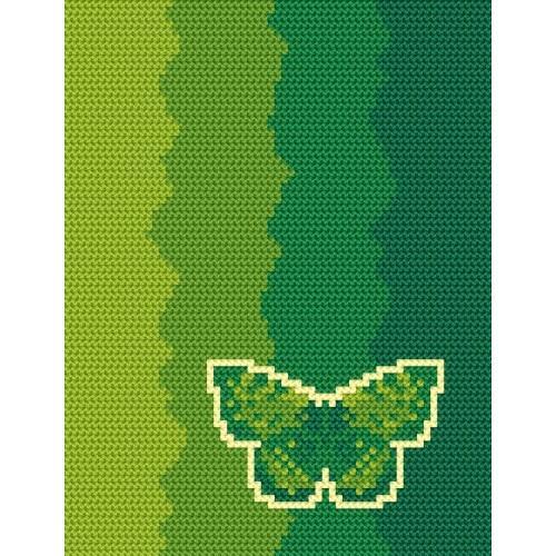 Frontier breakdown - R. Čermáková - Tapestry aida