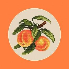 AN 4552 Juicy peaches - B. Sikora-Malyjurek - Tapestry aida