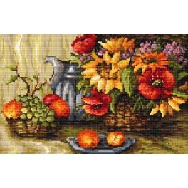 Summer memories - B. Sikora-Malyjurek - Tapestry aida