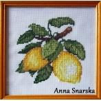 Appetizing lemons - B. Sikora-Malyjurek - Tapestry aida