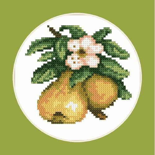 Tasty pears - B. Sikora-Malyjurek - Tapestry aida