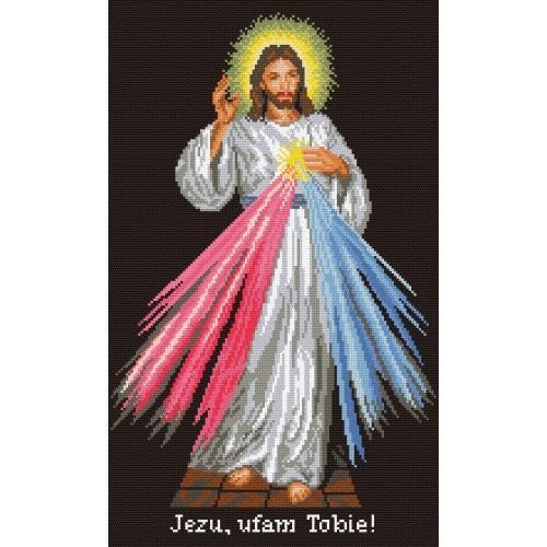 Jesus the Merciful - Tapestry aida