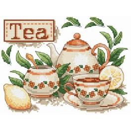 AN 4868 Tea - Tapestry aida