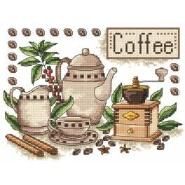 AN 4882 Coffee - Tapestry aida