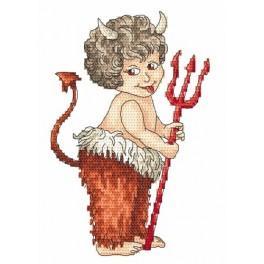 Devil - Tapestry aida