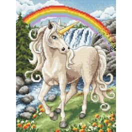 Unicorn - Tapestry aida