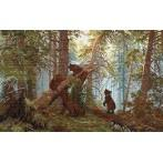 Ivan Shishkin - Morning in a Pine Forest - Tapestry aida