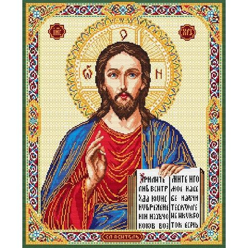 Icon – Christ All-powerful - Tapestry aida