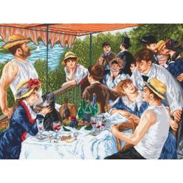 Oarsmen's breakfast - A. Renoir - Tapestry aida