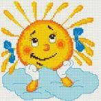 Languorous sun - Tapestry aida