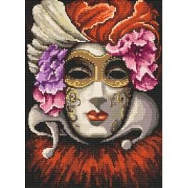 Venice mask - Tapestry aida