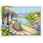 Italian landscape - Tapestry aida
