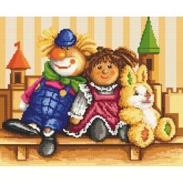 Cuddly - Tapestry aida