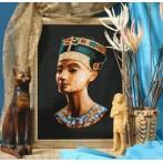 Tapestry aida - Nefertiti
