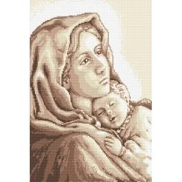Madonna with child - Tapestry aida