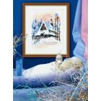 Winter landscape - Tapestry aida