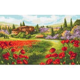 Sunny Tuscany - Tapestry aida