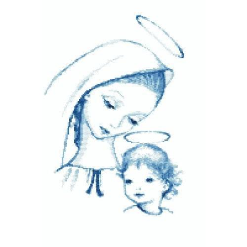 Celestial Mary - Tapestry aida