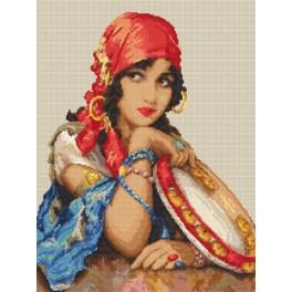 Tapestry aida - Beautiful gypsy