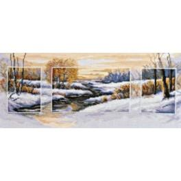 Cross stitch kit - Winter