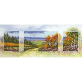 Cross stitch kit - Autumn
