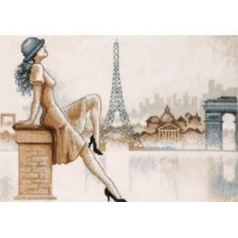 Zestaw z muliną - Romantyczny Paryż