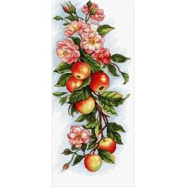 Cross stitch kit - Composition with apple