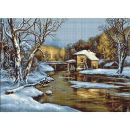 Cross stitch kit - Winter day