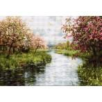 Cross stitch kit - Spring landscape