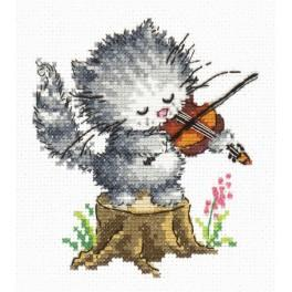 MN 15-17 Cross stitch kit - Young talent